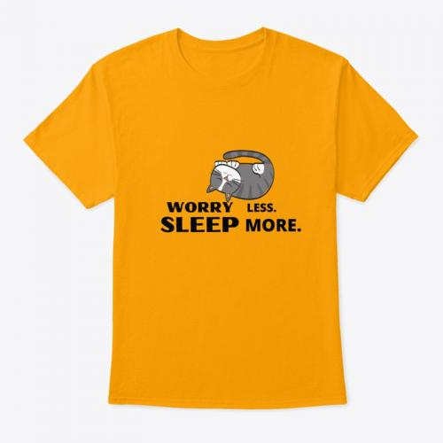 Worry Less Sleep More